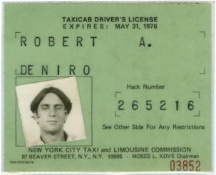 Robert DeNiro was once a real taxi driver??