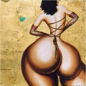 Curvy women in art