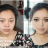 Asian Girls Before & After Makeup