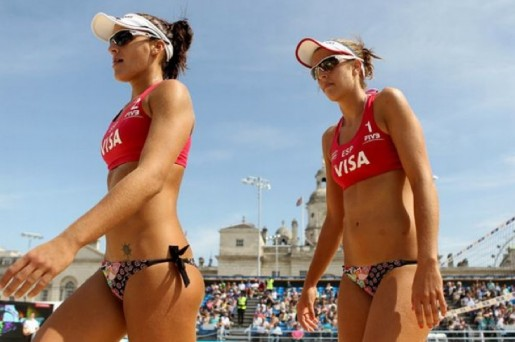 Women's beach vollyball