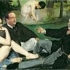 French elections Manet painting