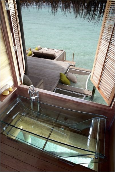 Maldives bath