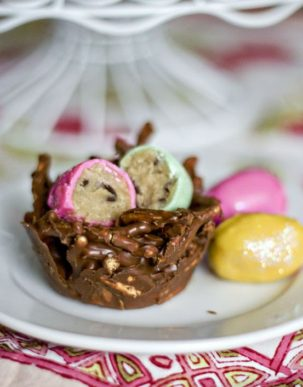Cookie Dough Easter Eggs