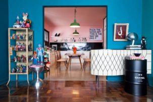 DJ Pil Marques amazing interior design kitsch