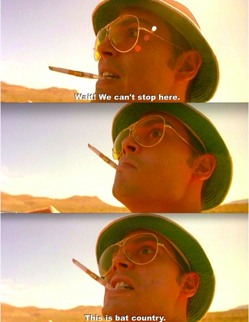 Fear and loathing in las vegas nl subs for Golang gossip