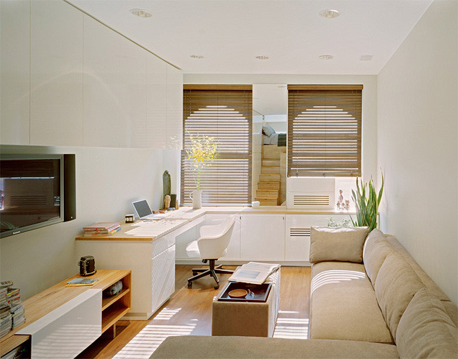 Studio Apartment Design Ideas nice studio apartment interior design ideas apartment tiny studio apartment design small s the janeti Stairs As Storage Bed Tucked Away On The Landing A Bit Like The Design Of A Boat This Flat Has Some Very Clever Ideas