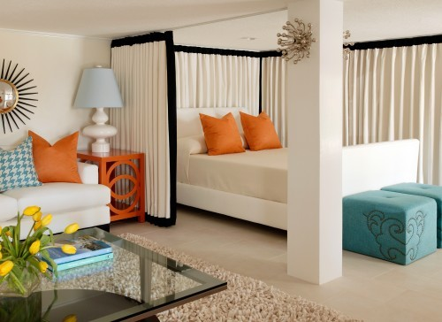 via here - One Bedroom Apartment Interior Design