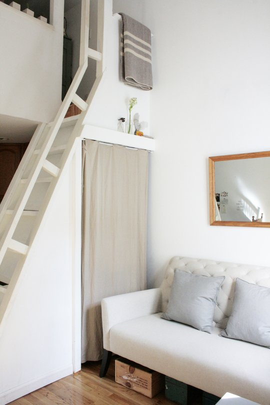 diy bunk loft ideas for small rooms high ceilings - 12 Tiny Ass Apartment Design Ideas to Steal