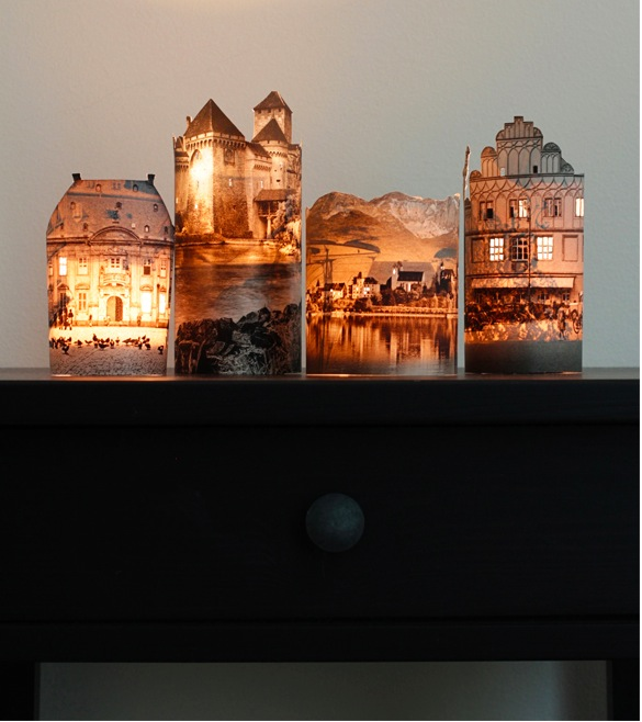 Light up a room with DIY Houses by Night. 10 Simple   Cool DIY Ideas for the Weekend