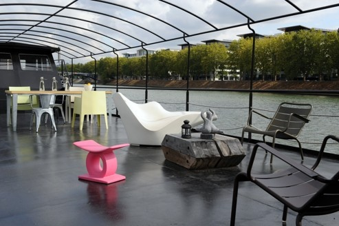 Paris Houseboat