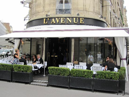 paris 10 trendy restaurants better than celebrity fly trap l 39 avenue