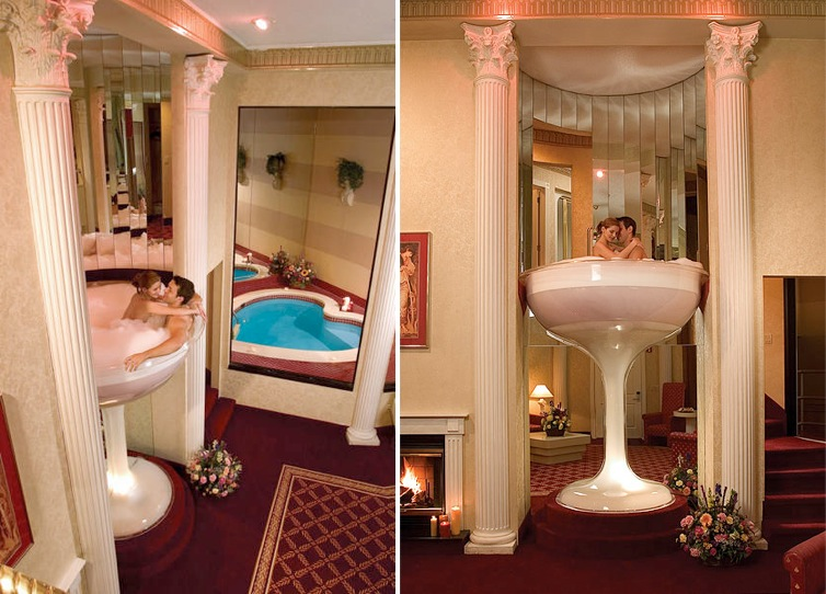 You Could Spend Your Honeymoon In A 7 Foot Champagne Glass Bath