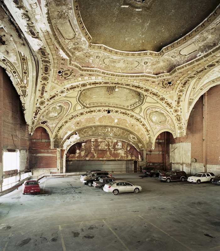 Abandoned Movie Theatre Detroit Michigan