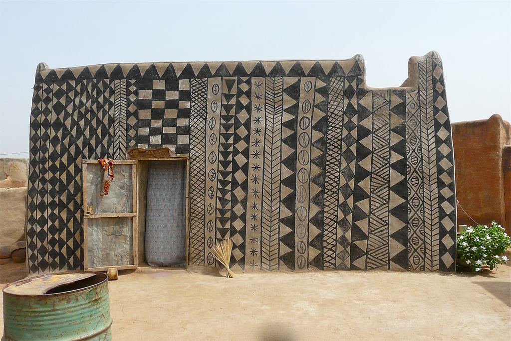 . The African Village Where Every House Is a Work of Art