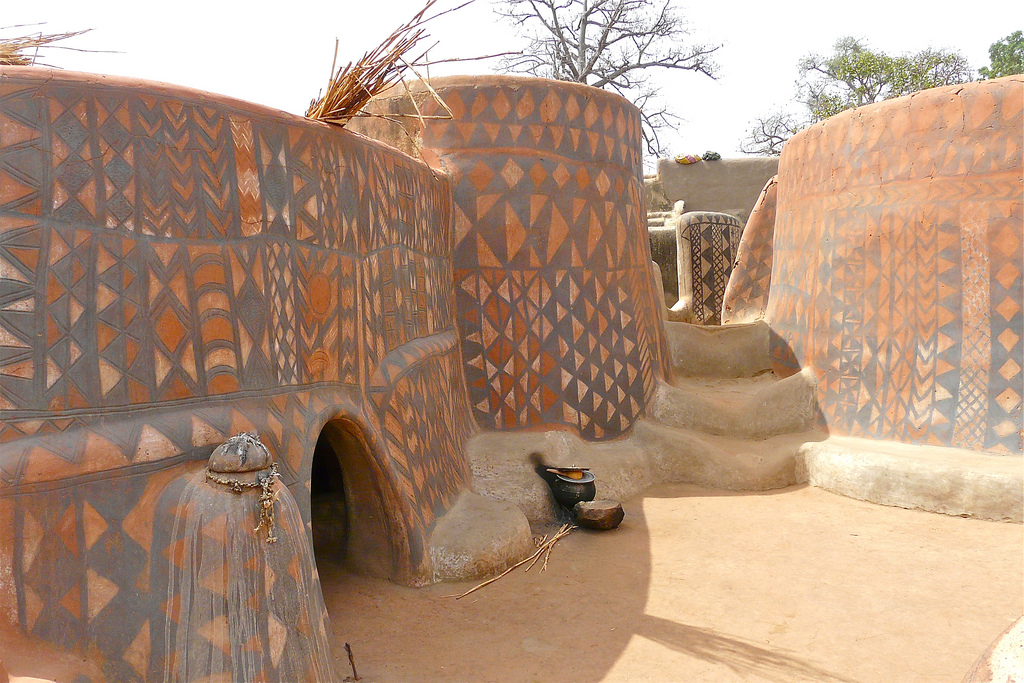 The african village where every house is a work of art - An artists home ...