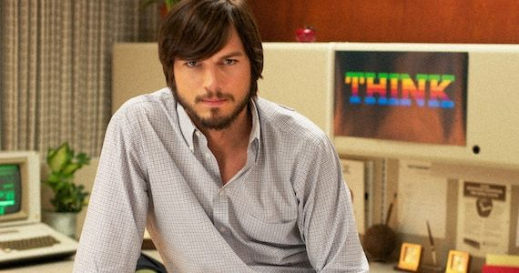 Perhaps casting Kutcher in the Steve Jobbs biopic wasn't such a strange choice after all?