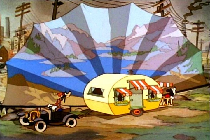 Mickey Mouse Had The Coolest Caravan Ever