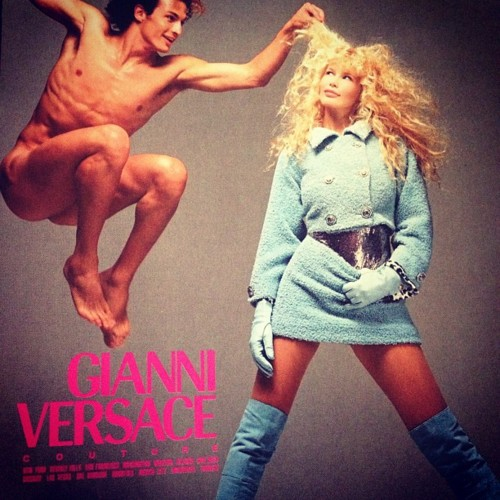 A Very Serious Retrospective Of Vintage Versace Ads