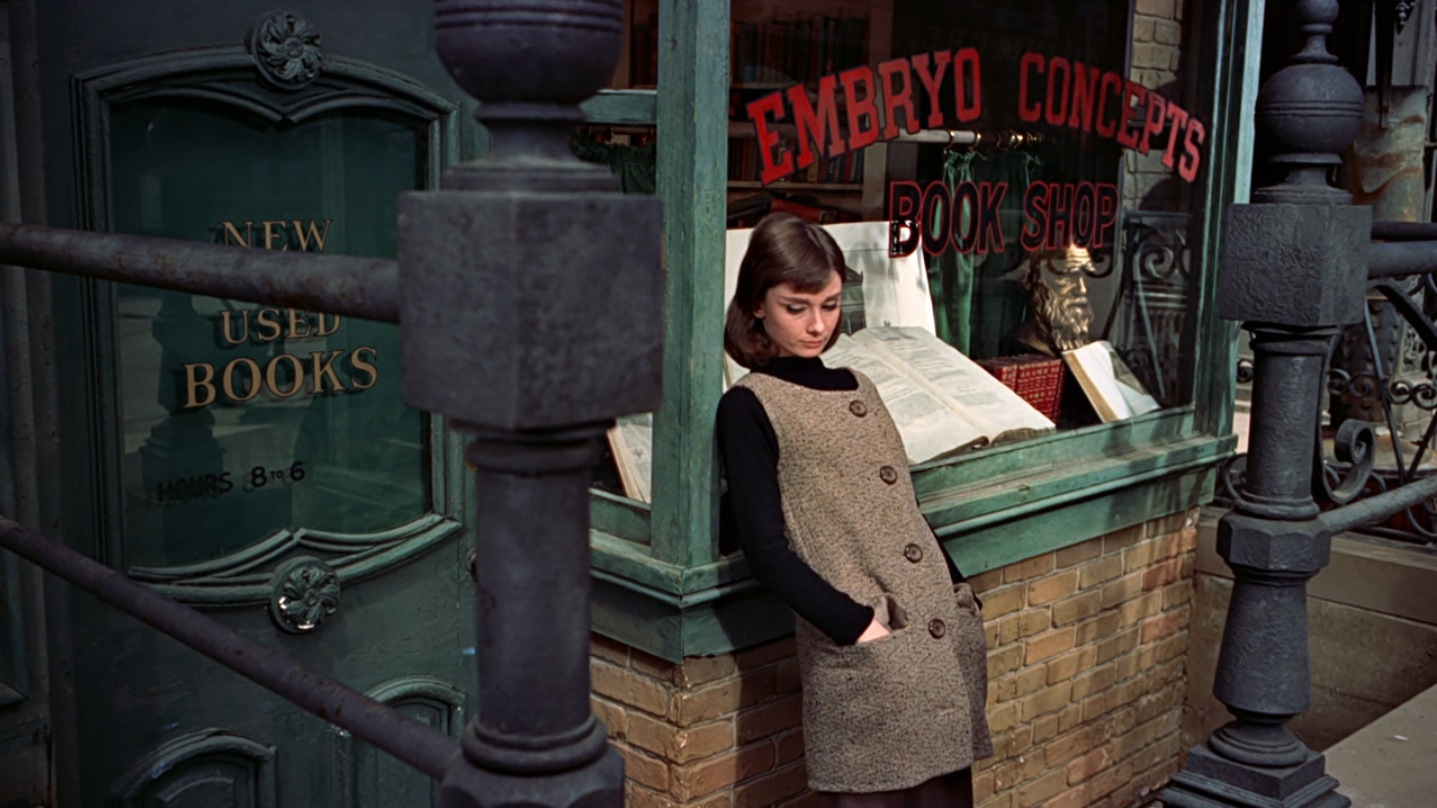 Audrey in Funny Face