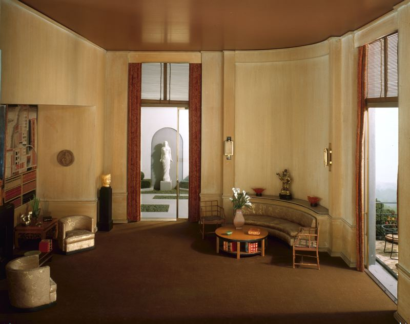 The magnificent miniatures for 1930s interior design living room