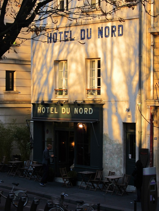 Tonight i 39 m taking you out to dinner in paris for Decor hotel du nord