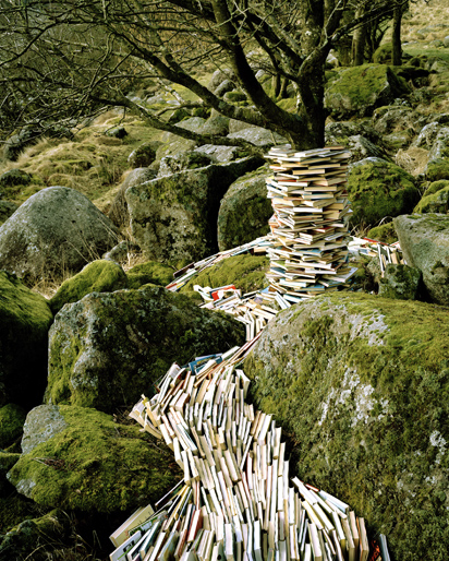 Retro Objects Invading Nature