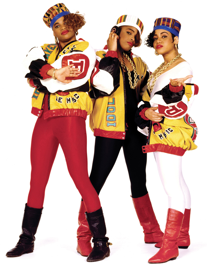 Salt-n-pepa 80s Fashion Clothes Salt N Pepa album cover in