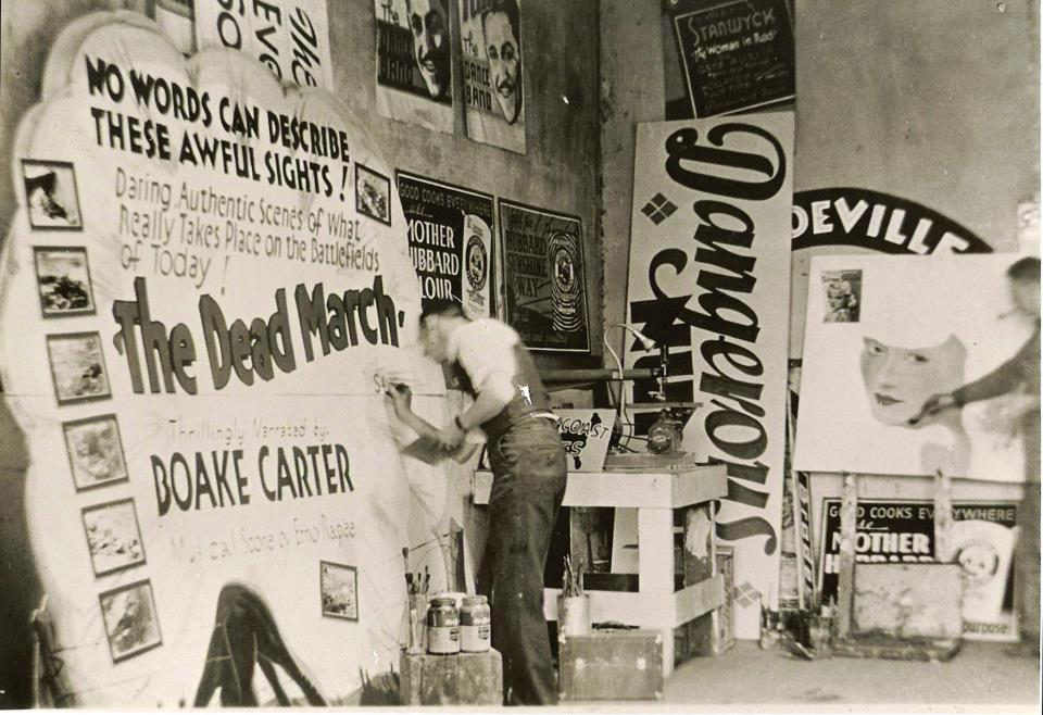 the lost industry of sign painters