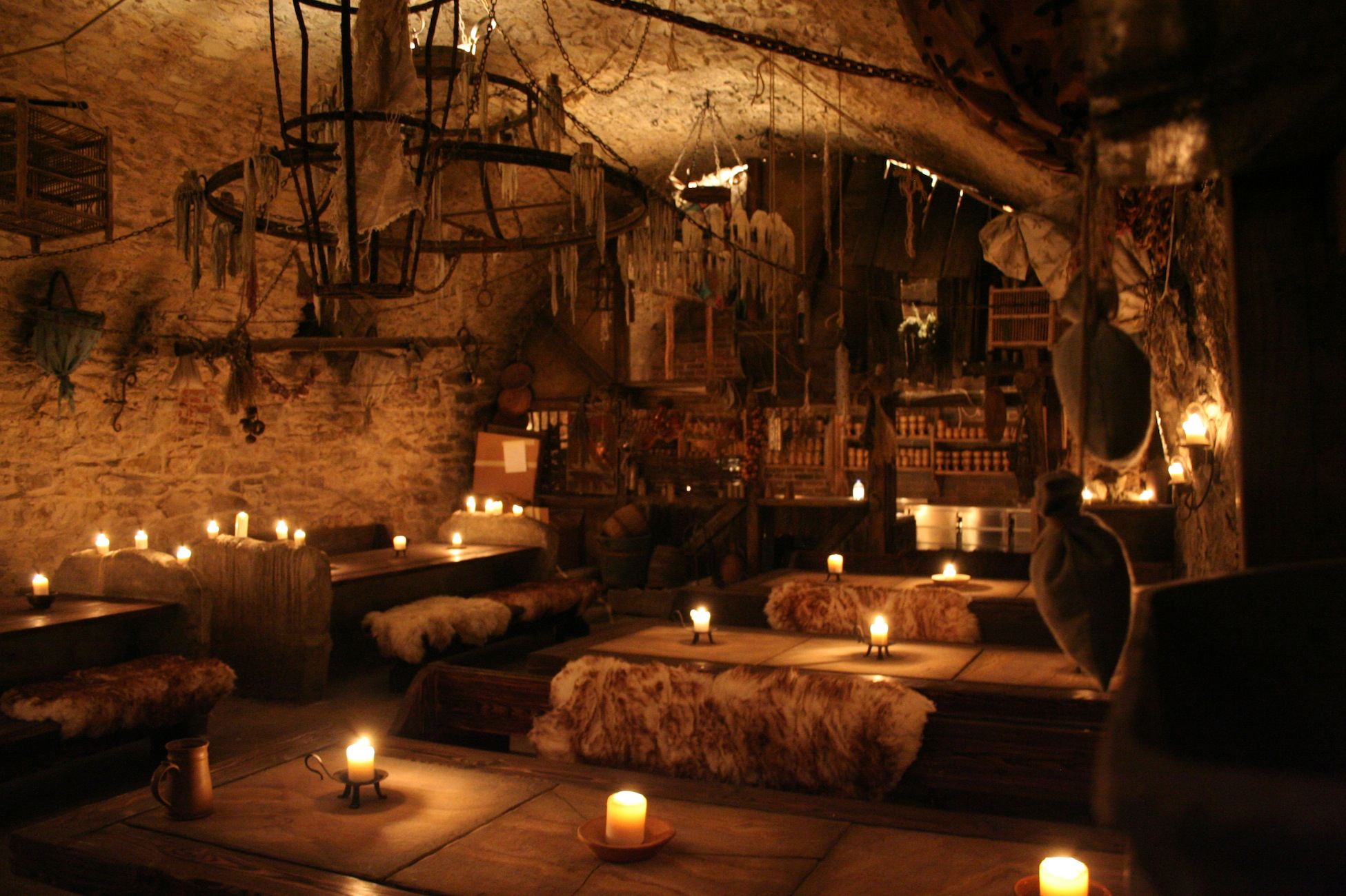 Medieval style game of thrones restaurants in europe