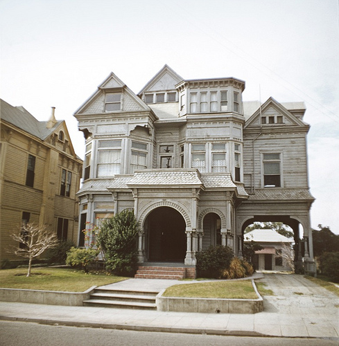 The lost victorian mansions of downtown la for Historical homes in los angeles