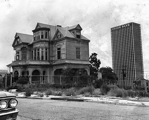 Old Hollywood Mansions the lost victorian mansions of downtown la