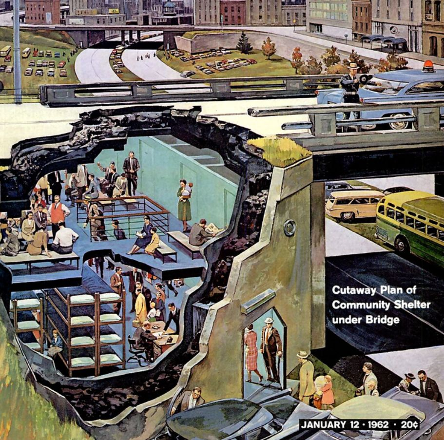 Car Underground Shelter : The lost art of cutaway