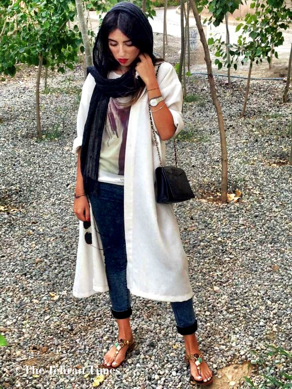 For an informative little background story on Iranian fashion after