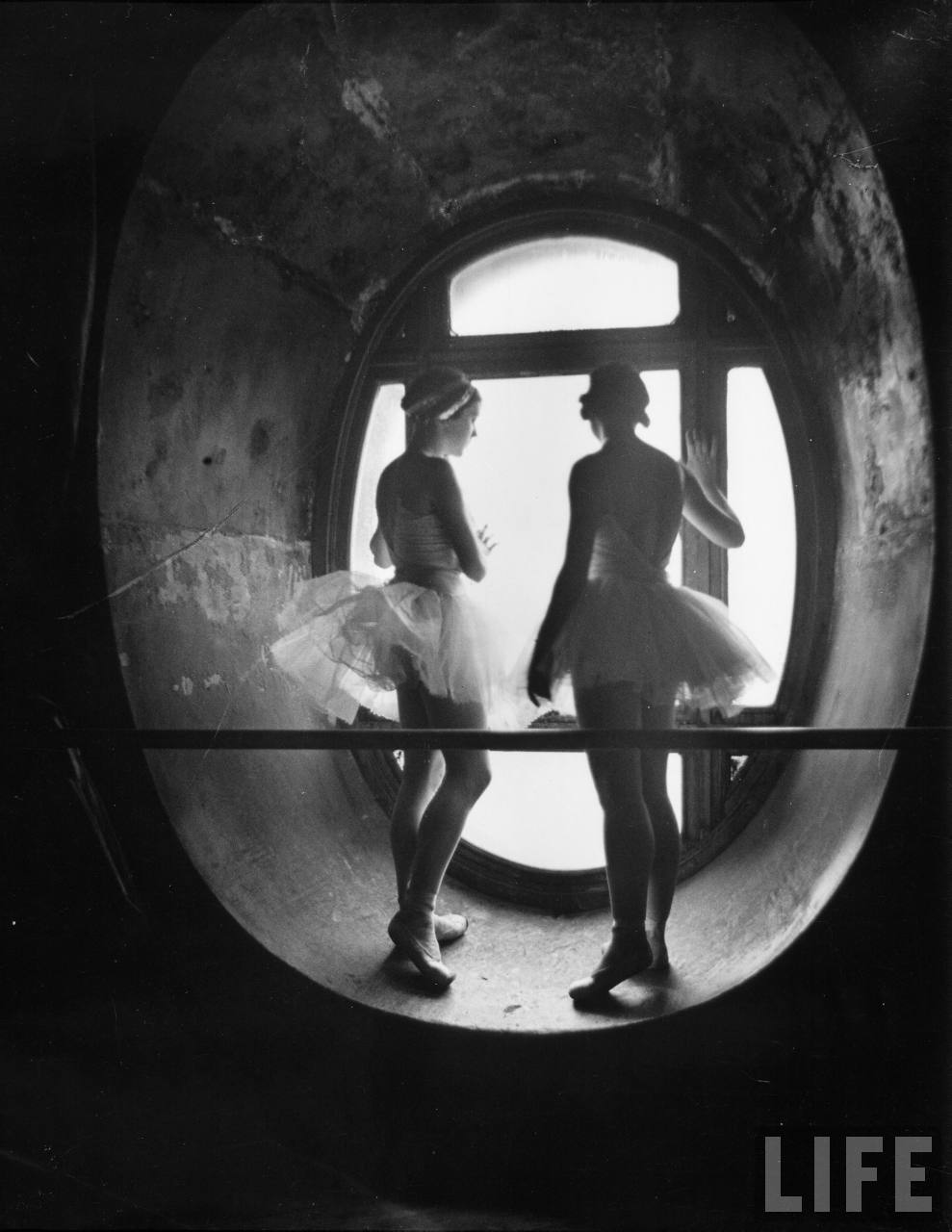 Dancing In The Attic Of The Paris Opera House
