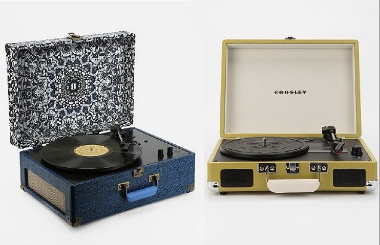 Elegant Room Portable USB Turntable By Crosley Available From Urban Outfitters