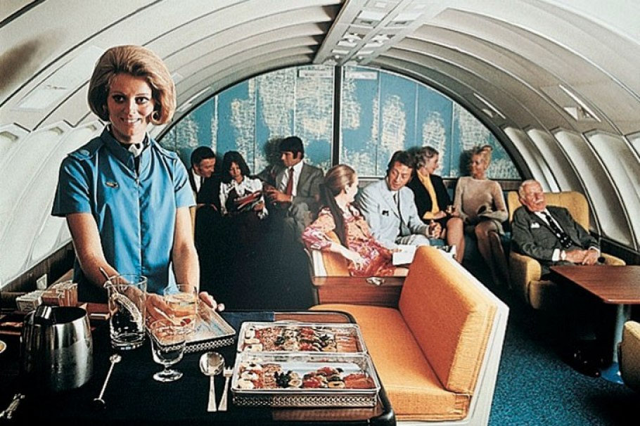 Let S Reminisce Over Airplanes That Had Piano Bars