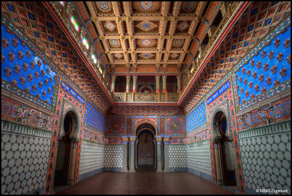 This Amazing Technicolor Castle Has Been Abandoned For More Than  Years