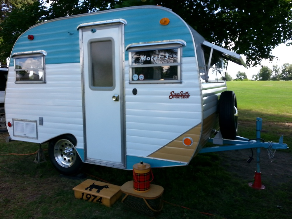 vintage compact campers for sale autos post. Black Bedroom Furniture Sets. Home Design Ideas