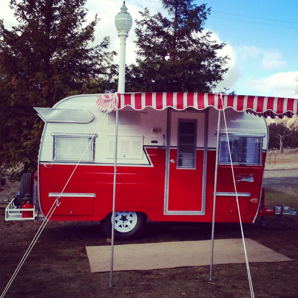 Vintage shasta trailer for sale