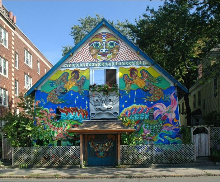 My Hometown Masonic Lodge Turned Psychedelic Art House