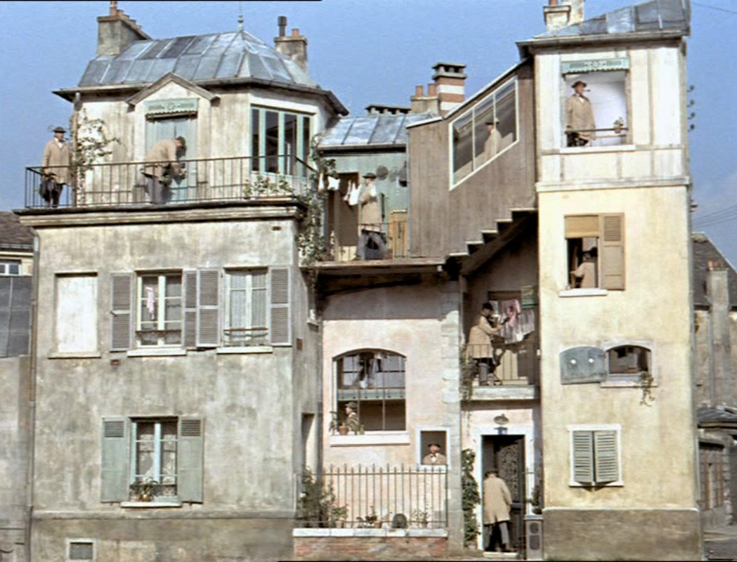 Monsieur hulot s parisian house museperk - Jacques tati mon oncle ...