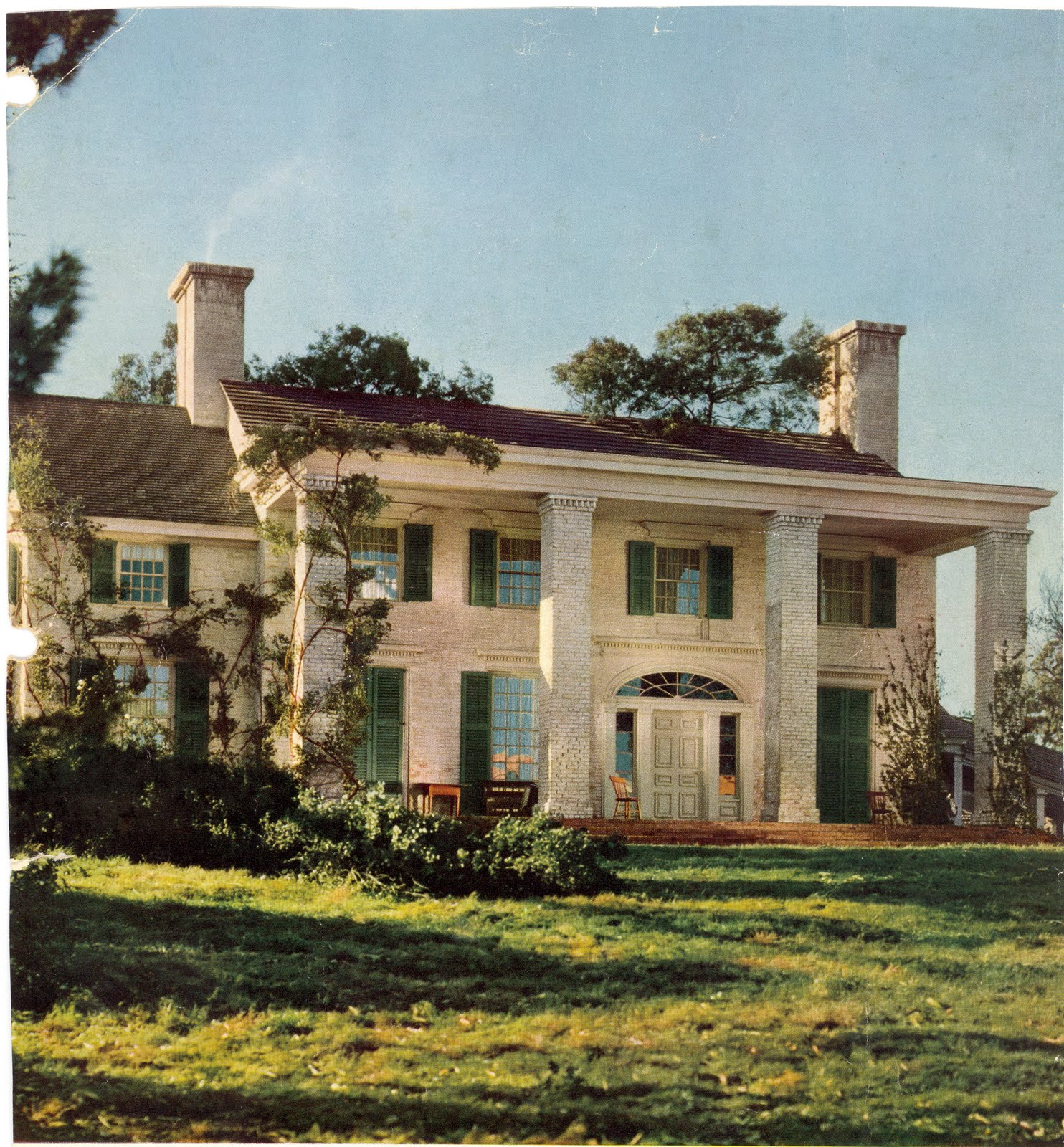 Hollywoods Iconic Gone with the Wind Movie Set has been hiding
