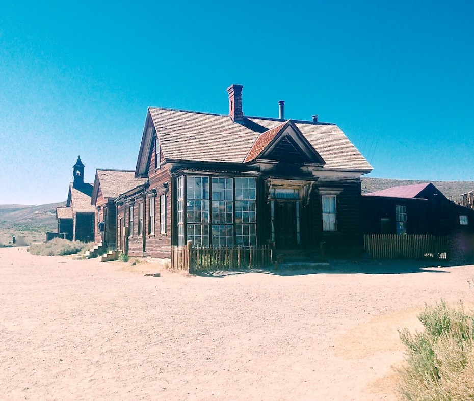 Two Ghost Towns, One That Died And One That Survived