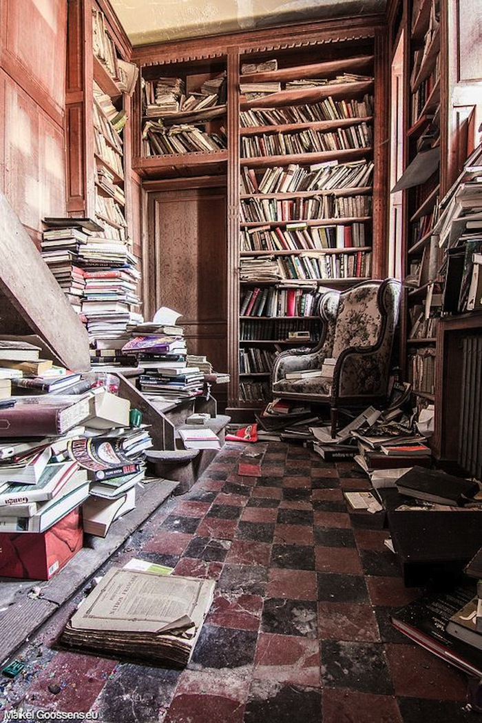 abandonedlibrary1 - The World's Most Beautiful Library - Photos Unlimited