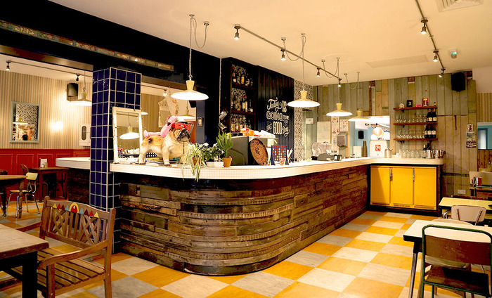 The Secret Seventies Bar Hidden inside a Retro Laundromat Café
