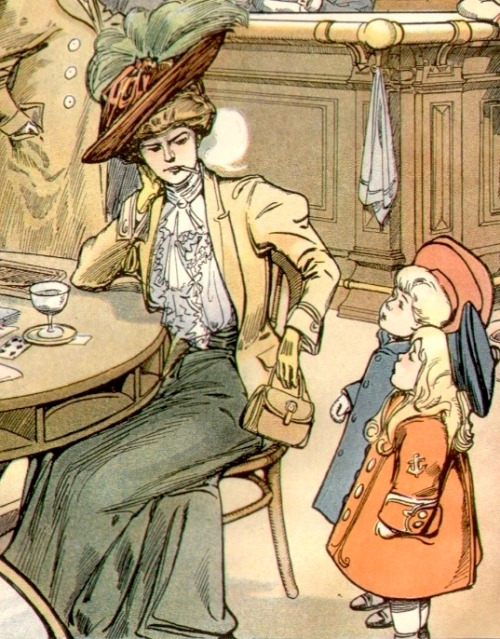 Between The 1890s And Early 1900s Thousands Of Illustrations Like This Were Produced Distributed Around United States England On Postcards