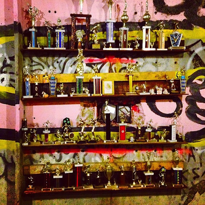 The Mysterious Trophy Room Found under a Boston Bridge