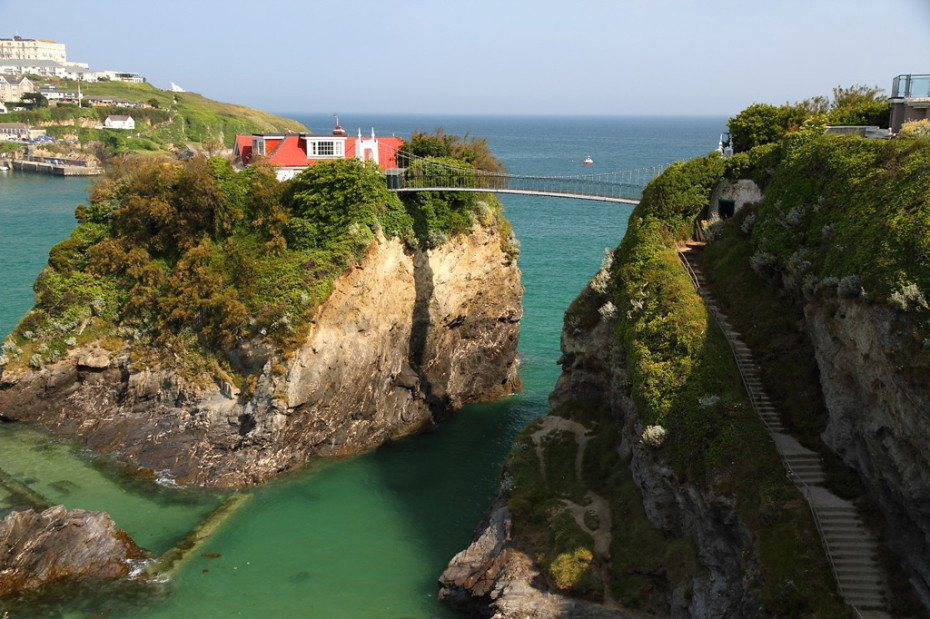 House on the Rock: The Island Hideaway complete with its own Private Bridge