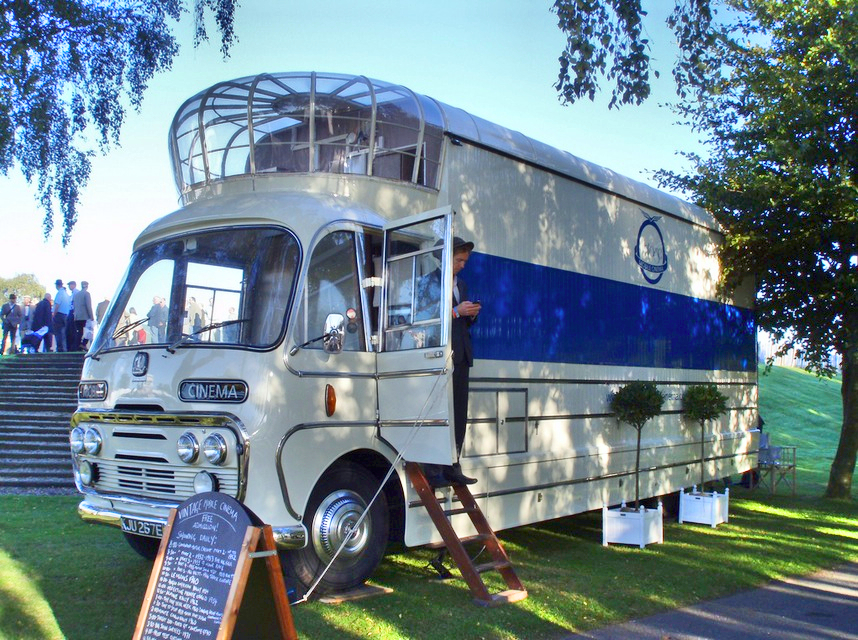 for sale the last cinema bus