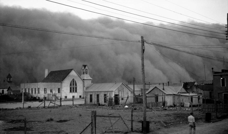 Largest Man Made Natural Disaster Dust Bowl